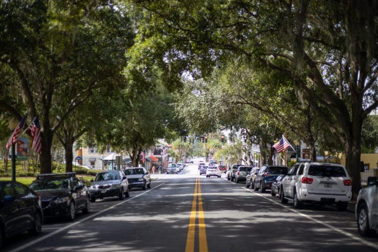 streets of Mount Dora